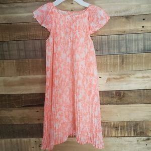 H&M Girls Dress pleated size 7-8 years
